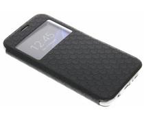 Schwarze Rauten-Hülle für Samsung Galaxy S7 Edge