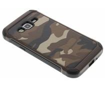 Braune Camouflage Hardcase-Hülle für Samsung Galaxy J3/J3 (2016)