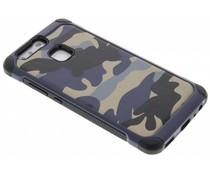 Blaue Camouflage Hardcase-Hülle für Huawei P9