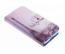 Paris-Design TPU Booktype Hülle für Samsung Galaxy S5 Mini