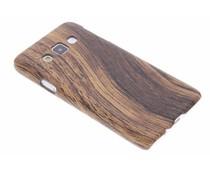 Holz-Design Hardcase-Hülle Dunkelbraun für Samsung Galaxy A3