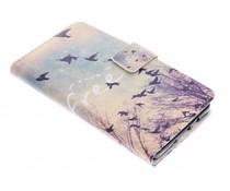 Be free Design TPU Booktype Hülle für Samsung Galaxy A5