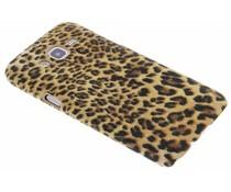 Leoparden Flock Design Hardcase-Hülle für Samsung Galaxy J5