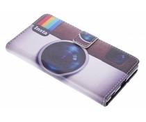 Insta-Design TPU Booktype Hülle für Sony Xperia Z5