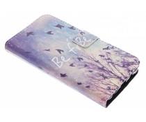 Be free TPU Booktype Hülle für Samsung Galaxy J5