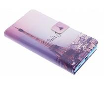 Paris-Design TPU Booktype Hülle für Sony Xperia Z5