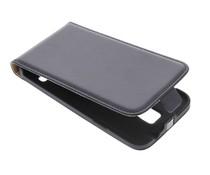 Schwarzes Luxus Flipcase für Samsung Galaxy S5 (Plus)/Neo
