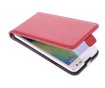 Rotes Luxus Flipcase für Samsung Galaxy A3