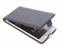 Schwarzes Luxus Flipcase für Huawei P8