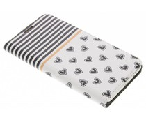 Streifen Design Booklet für Samsung Galaxy J5 (2016)