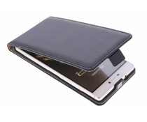 Selencia Luxus Flipcase für Huawei P8 - Schwarz