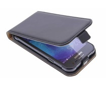Selencia Luxus Flipcase für Samsung Galaxy Xcover 3 - Schwarz