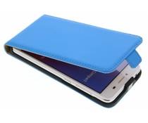 Selencia Luxus Flipcase für Huawei Y5 2/Y6 2 Compact - Blau