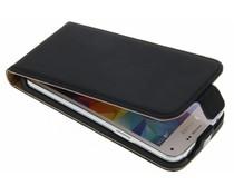 Selencia Luxus Flipcase für Samsung Galaxy S5 Mini - Schwarz