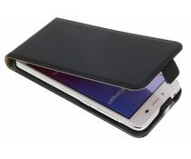 Selencia Luxus Flipcase für Huawei Y5 2/Y6 2 Compact - Schwarz