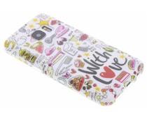 Blond Amsterdam With Love Softcase für Samsung Galaxy S7