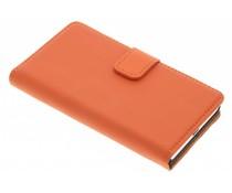 Selencia Luxus Bookcase für Sony Xperia Z5 Compact - Orange