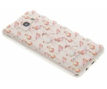 Flamingo Design TPU Silikon-Hülle für Samsung Galaxy J5 (2016)