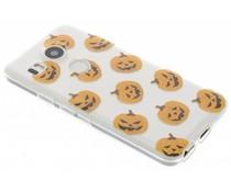 Halloween Design Kürbisse TPU Hülle für LG Nexus 5X