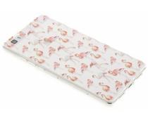 Flamingo Design TPU Silikon-Hülle für Huawei P8 Lite