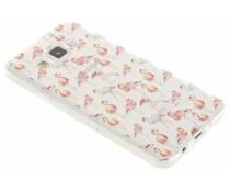 Flamingo Design TPU Silikon-Hülle für Samsung Galaxy A3