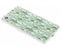 Kaktus Design TPU Silikon-Hülle für Sony Xperia Z5 Compact