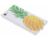 Transparente Ananas Design TPU Hülle für Sony Xperia Z5 Compact