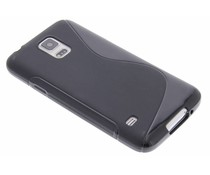 Schwarze S-Line TPU Hülle für Samsung Galaxy S5 (Plus) / Neo