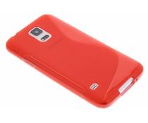 Rote S-Line TPU Hülle für Samsung Galaxy S5 (Plus)/Neo