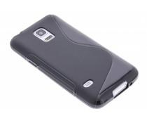 Schwarze S-Line TPU Hülle für Samsung Galaxy S5 Mini