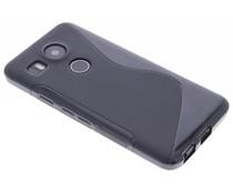 Schwarze S-Line TPU Hülle für LG Nexus 5X