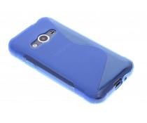 Blaue S-Line TPU Hülle für Samsung Galaxy Xcover 3