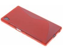 Rote S-Line TPU Hülle für Sony Xperia Z5