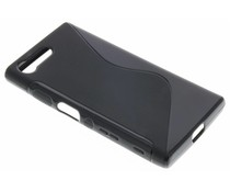 Schwarze S-Line TPU Hülle für Sony Xperia X Compact