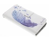 Feder Design TPU Portemonnaie für Samsung Galaxy J5