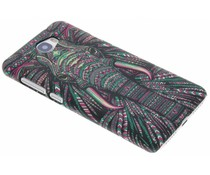 Elefant Aztec Animal Design Hardcase für Huawei Y5 2/Y6 2 Compact