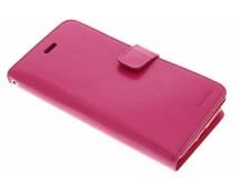 Mercury Goospery Mansoor Wallet Diary Case für iPhone 8 Plus / 7 Plus - Fuchsia