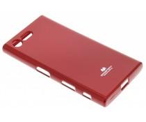 Mercury Goospery Jelly Case für Sony Xperia X Compact - Rot