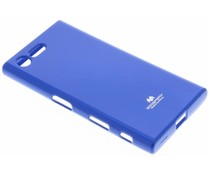 Mercury Goospery Jelly Case für Sony Xperia X Compact - Blau