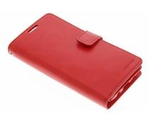 Mercury Goospery Mansoor Wallet Diary Case für Samsung Galaxy S7 Edge - Rot