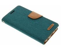 Mercury Goospery Canvas Diary Case für Samsung Galaxy S6 - Grün