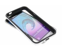 Silberfarbene Bumper Hülle für Samsung Galaxy J3/J3 (2016)
