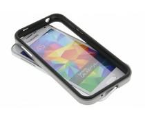 Graue Bumper Hülle für Samsung Galaxy S5 Mini