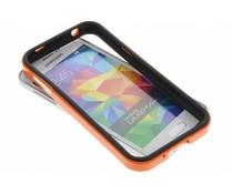 Orange Bumper Hülle für Samsung Galaxy S5 Mini