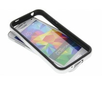 Silberfarbene Bumper Hülle für Samsung Galaxy S5 Mini
