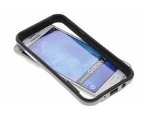 Graue Bumper Hülle für Samsung Galaxy J5