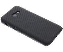 Schwarze Carbon Look Hardcase-Hülle für Samsung Galaxy A5 (2017)