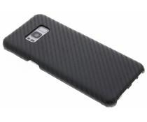 Schwarze Carbon Look Hardcase-Hülle für Samsung Galaxy S8 Plus