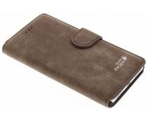 Luxus Wildleder Booktype Hülle für Huawei P9 Lite