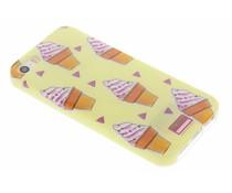 Blond Amsterdam Icecream Softcase für iPhone 5 / 5s / SE
